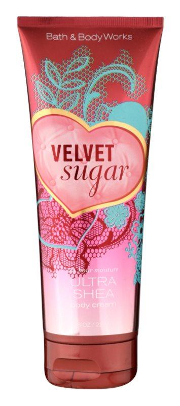 Bath & Body Works Velvet Sugar tělový krém pro ženy 236 ml