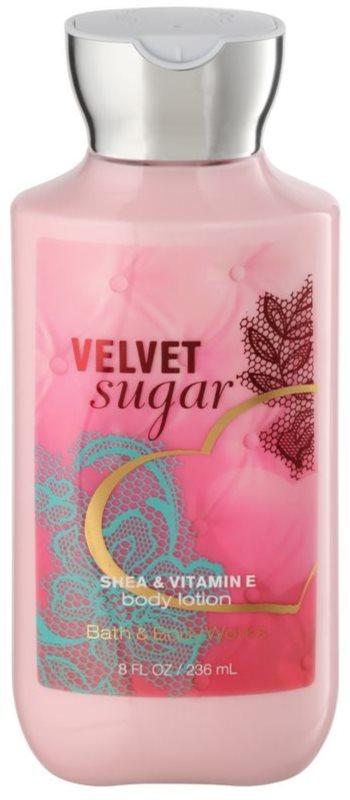 Bath & Body Works Velvet Sugar mleczko do ciała dla kobiet 236 ml