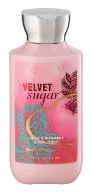 Bath & Body Works Velvet Sugar tělové mléko pro ženy 236 ml
