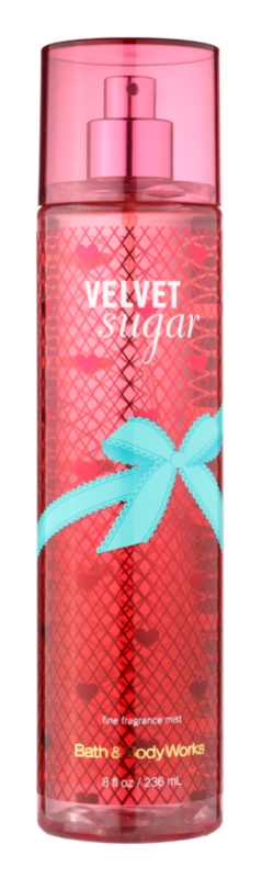 Bath & Body Works Velvet Sugar spray corpo per donna 236 ml