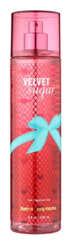 Bath & Body Works Velvet Sugar spray do ciała dla kobiet 236 ml