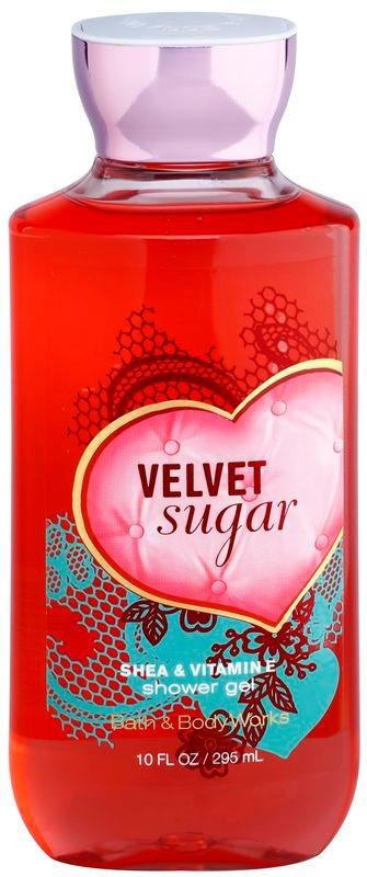 Bath & Body Works Velvet Sugar гель для душу для жінок 295 мл