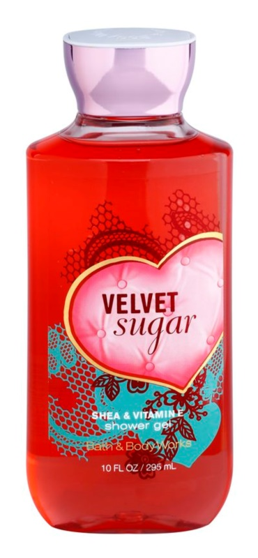 Bath & Body Works Velvet Sugar gel doccia per donna 295 ml