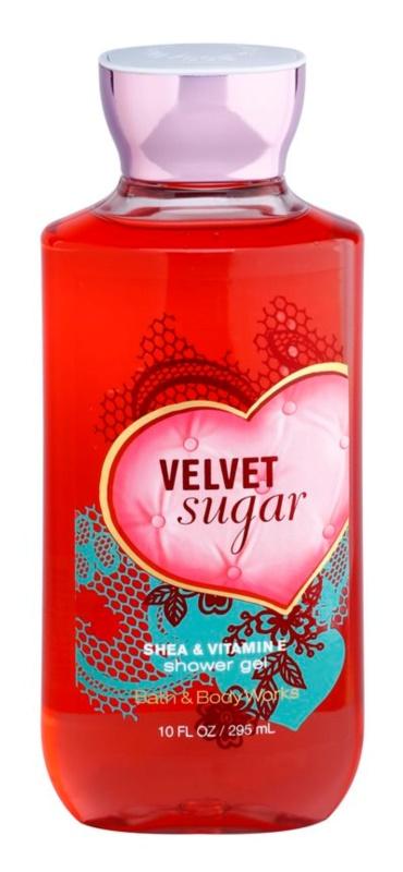 Bath & Body Works Velvet Sugar sprchový gel pro ženy 295 ml