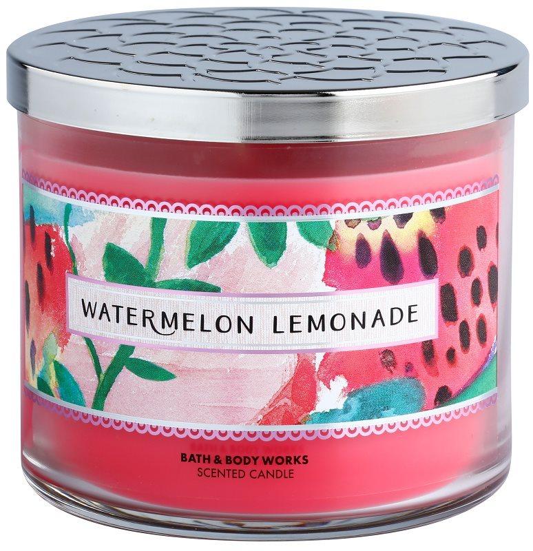 Bath & Body Works Watermelon Lemonade vonná svíčka 411 g I.