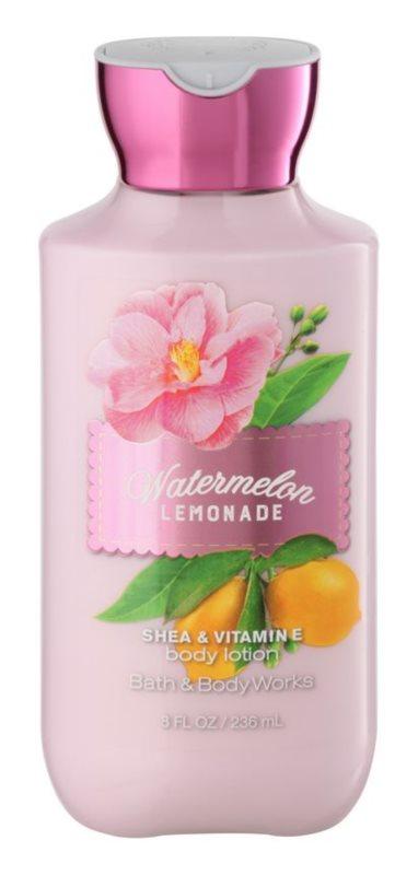 Bath & Body Works Watermelon Lemonade leite corporal para mulheres 236 ml