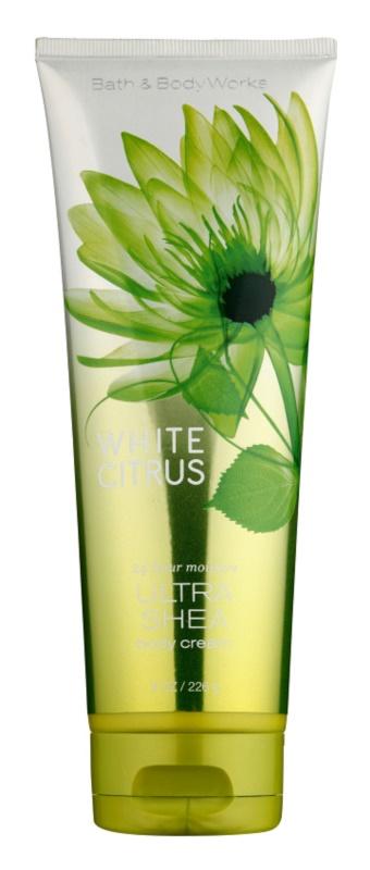 Bath & Body Works White Citrus crème corps pour femme 236 ml