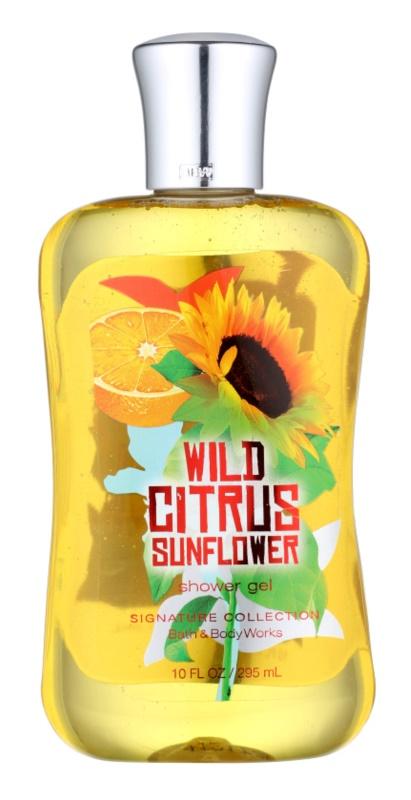 Bath & Body Works Wild Citrus Sunflower sprchový gél pre ženy 295 ml