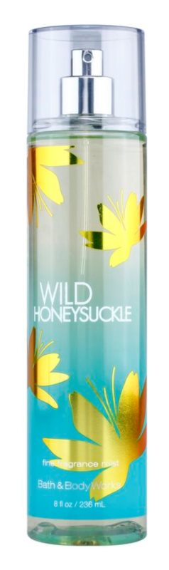 Bath & Body Works Wild Honeysuckle Bodyspray  voor Vrouwen  236 ml