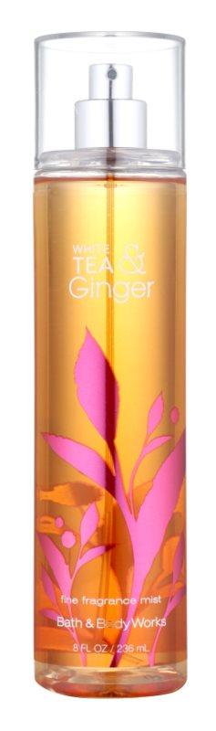 Bath & Body Works White Tea & Ginger Body Spray for Women 236 ml