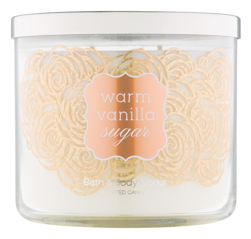 Bath & Body Works Warm Vanilla Sugar Scented Candle 411 g