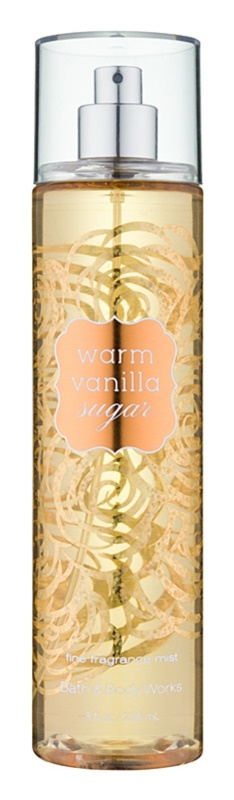 Bath & Body Works Warm Vanilla Sugar Bodyspray  voor Vrouwen  236 ml