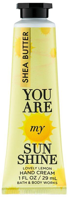 Bath & Body Works You Are My Sunshine creme de mãos