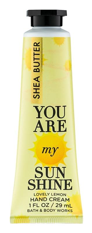 Bath & Body Works You Are My Sunshine krém na ruce