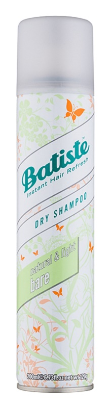 Batiste Fragrance Bare suchý šampon pro absorpci přebytečného mazu a pro osvěžení vlasů