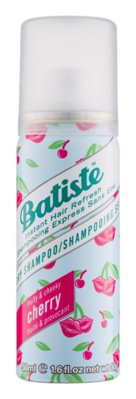 Batiste Fragrance Cherry champô seco para volume e brilho