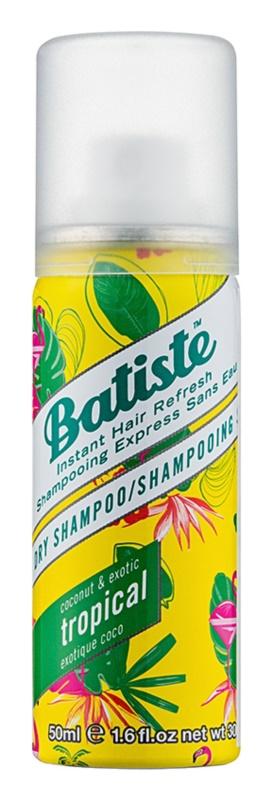 Batiste Fragrance Tropical suchý šampon pro objem a lesk