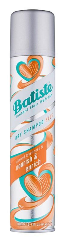 Batiste Nourish & Enrich száraz sampon a  felesleges faggyú felszívódásáért és a haj frissítéséért