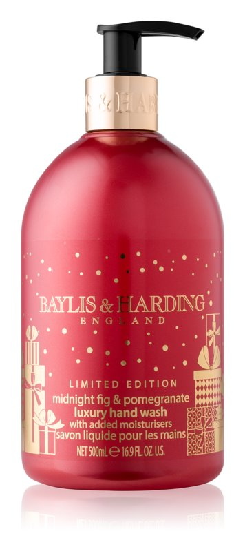 Baylis & Harding Midnight Fig & Pomegranate luxuriöse Flüssigseife