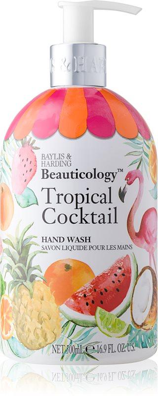 Baylis & Harding Beauticology Tropical Cocktail flüssige Seife für die Hände