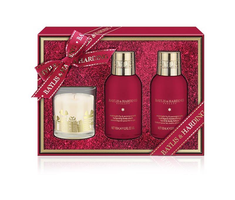 Baylis & Harding Midnight Fig & Pomegranate Cosmetic Set I.