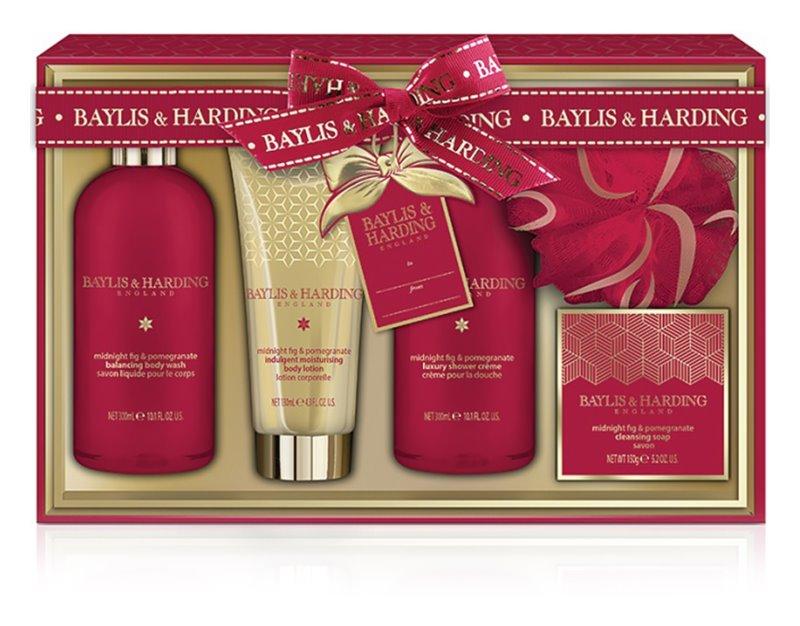 Baylis & Harding Midnight Fig & Pomegranate Cosmetic Set II.
