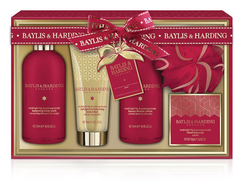 Baylis & Harding Midnight Fig & Pomegranate zestaw kosmetyków II.
