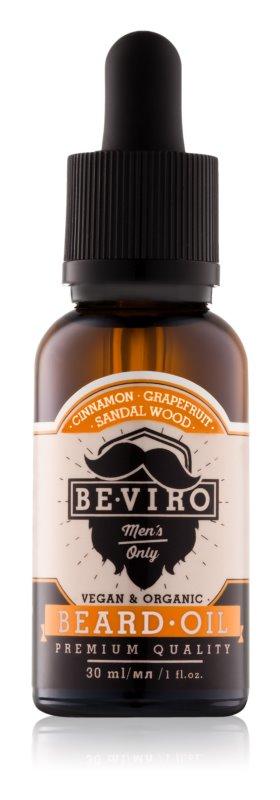 Be-Viro Men's Only Grapefruit, Cinnamon, Sandal Wood Bartöl