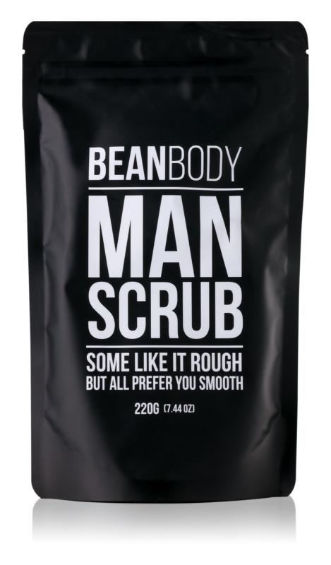 Bean Body Man vyhlazující tělový peeling pro muže