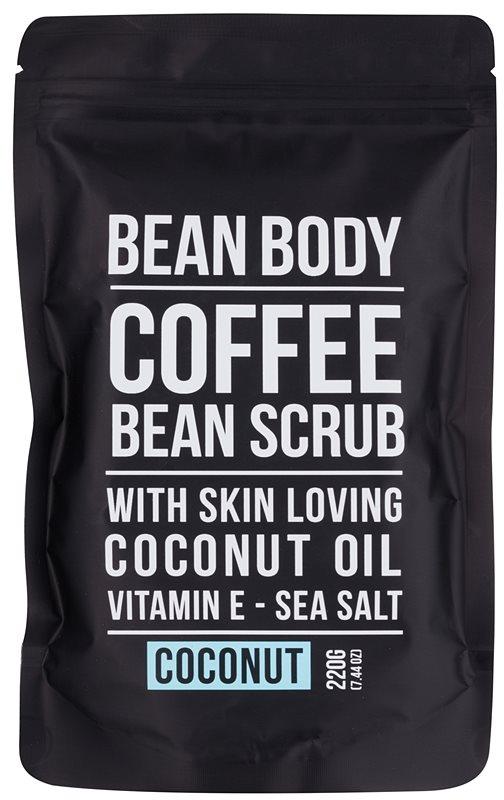 Bean Body Coconut exfoliant de corp pentru matifiere