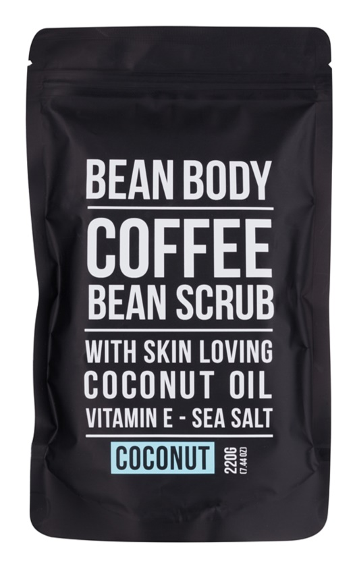 Bean Body Coconut exfoliante corporal con efecto lifting