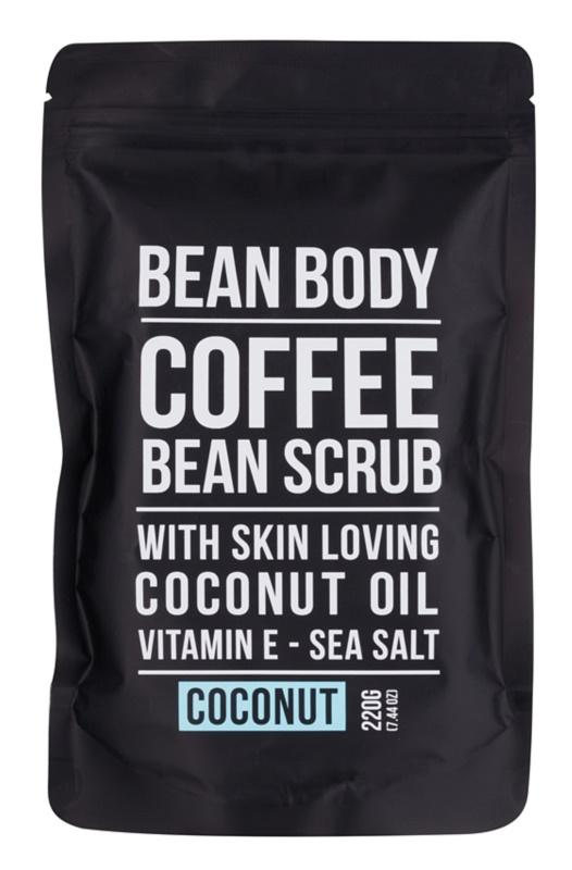 Bean Body Coconut vyhladzujúci telový peeling