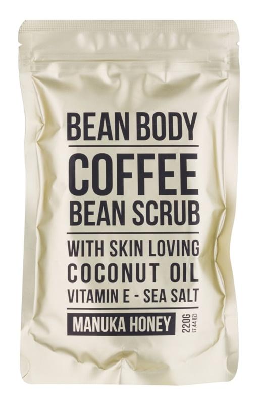 Bean Body Manuka Honey esfoliante corporal de alisamento