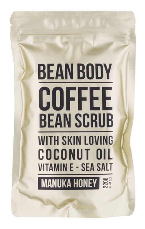 Bean Body Manuka Honey exfoliante corporal con efecto lifting