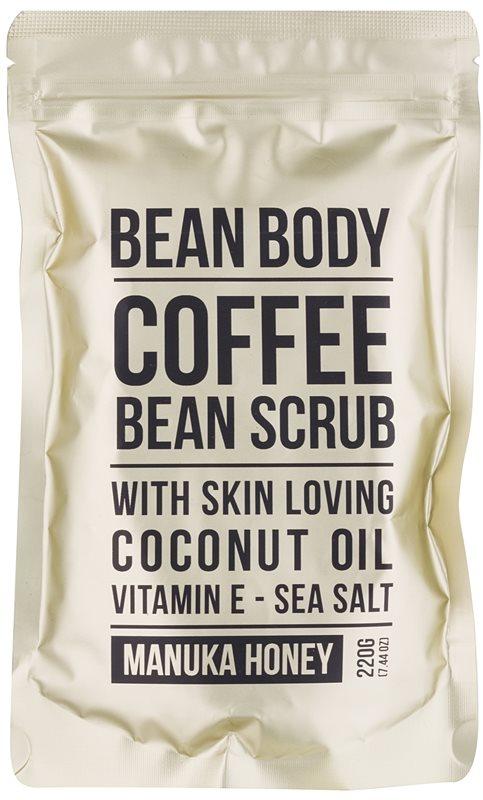 Bean Body Manuka Honey vyhladzujúci telový peeling