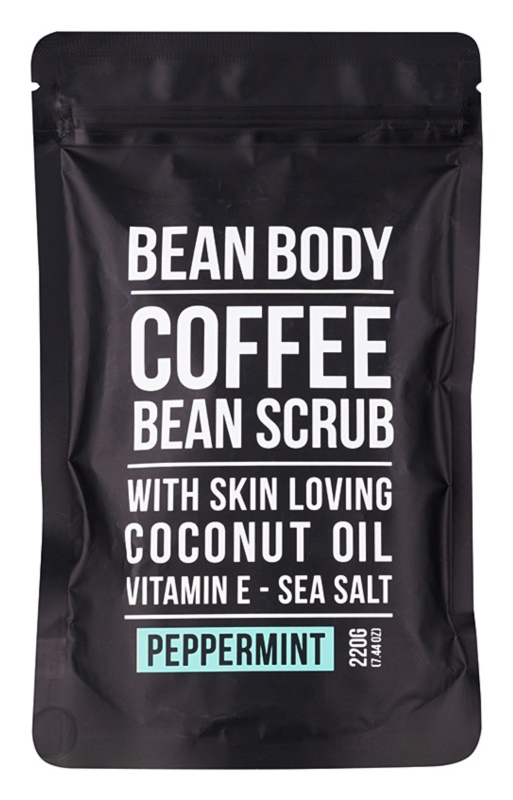 Bean Body Peppermint exfoliante corporal con efecto lifting