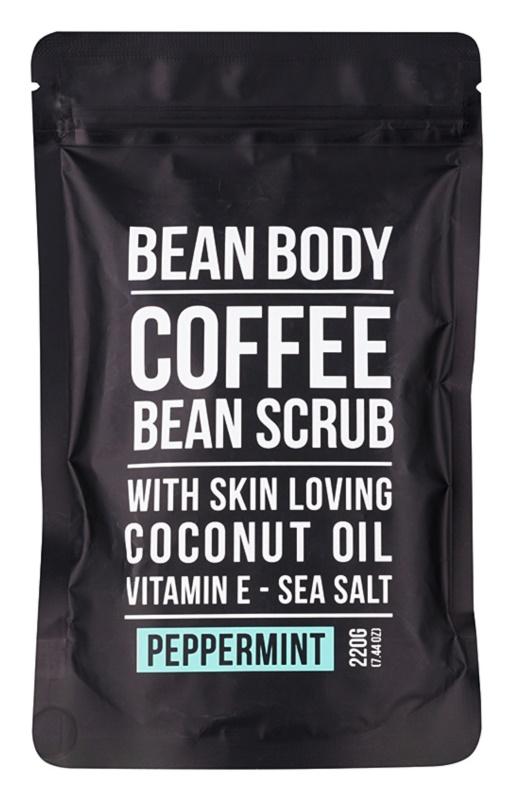 Bean Body Peppermint vyhladzujúci telový peeling