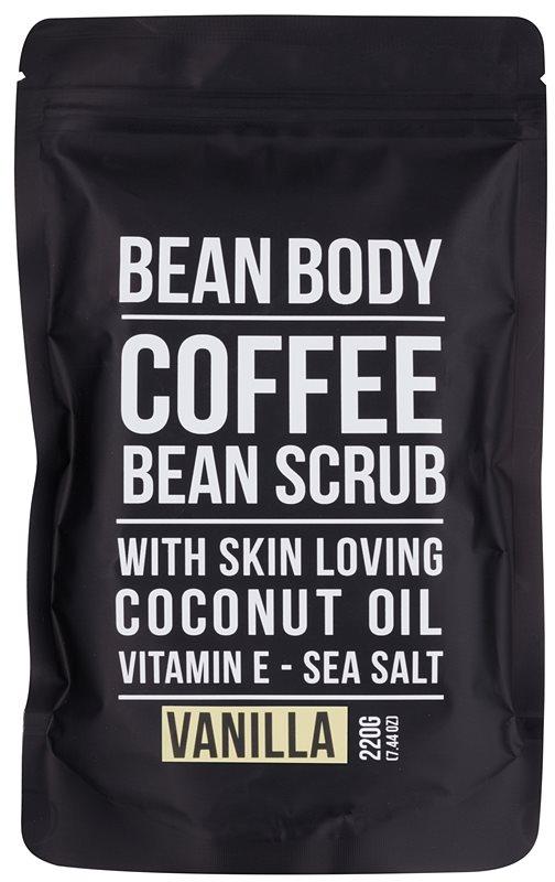 Bean Body Vanilla esfoliante corporal de alisamento
