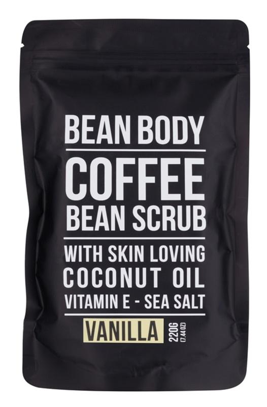 Bean Body Vanilla vyhlazující tělový peeling