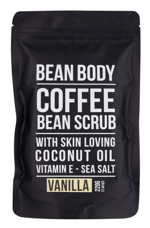 Bean Body Vanilla zaglađujući piling za tijelo