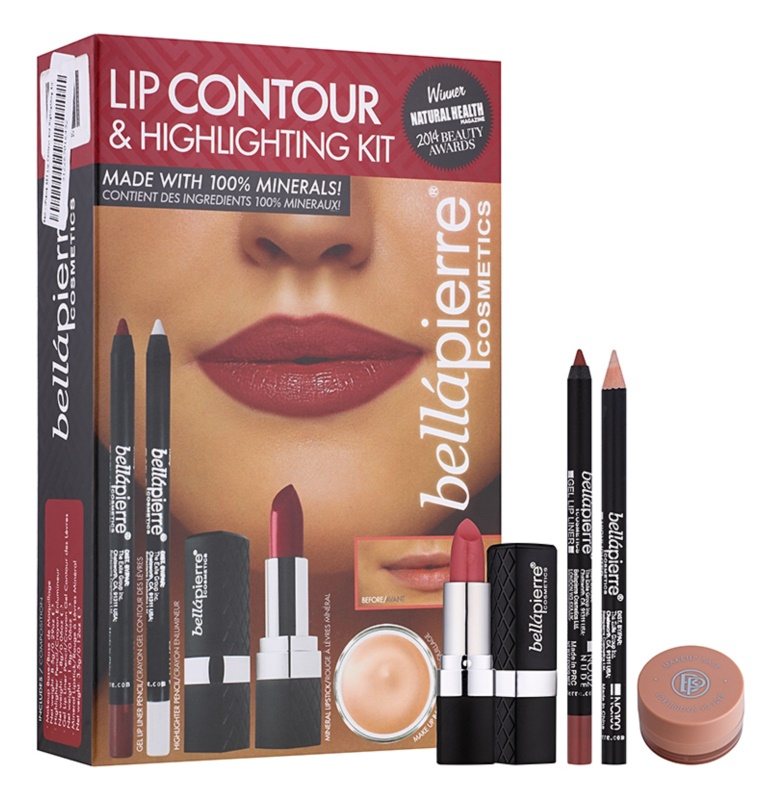 BelláPierre Lip Contour & Highlighting Kit set cosmetice I.