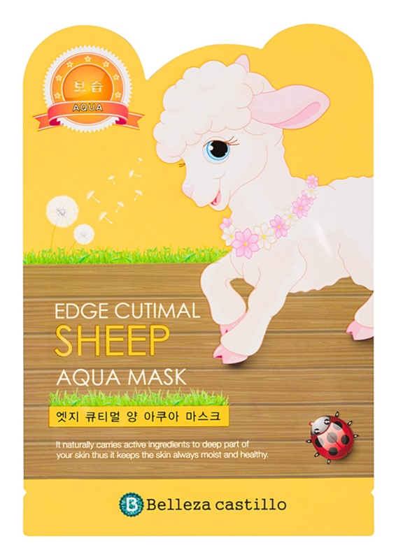 Belleza Castillo Edge Cutimal Sheep Hydrating Face Mask