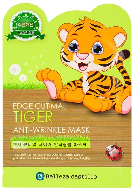Belleza Castillo Edge Cutimal Tiger маска для розгладження зморшок та для пружності шкіри