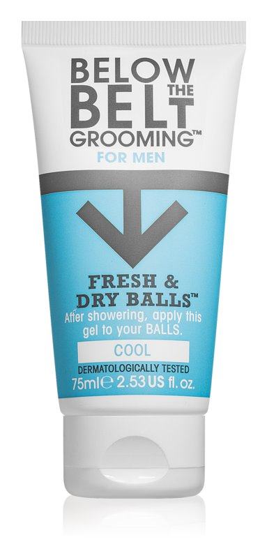Below the Belt Grooming Cool gel na intímne partie pre mužov