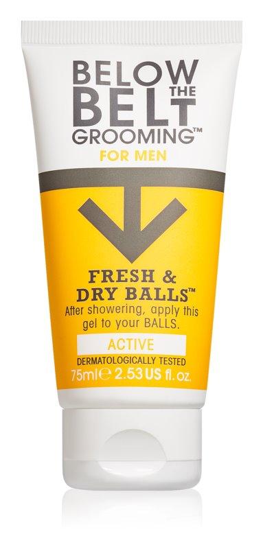 Below the Belt Grooming Active gel na intímne partie pre mužov