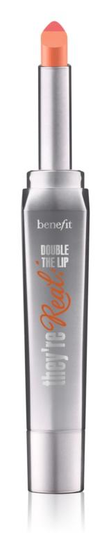 Benefit They're Real! Double The Lip šminka za polne ustnice