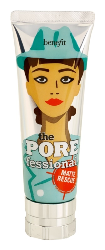 Benefit The POREfessional gel matificante invisível contra brilho de rosto i poro dilatados