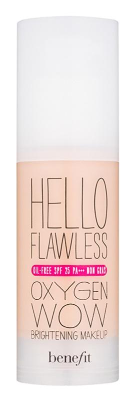 Benefit Hello Flawless Oxygen Wow fond de teint liquide SPF 25