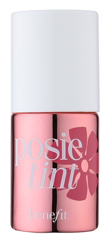 Benefit Posie Tint blush lichid și luciu de buze 2 in 1