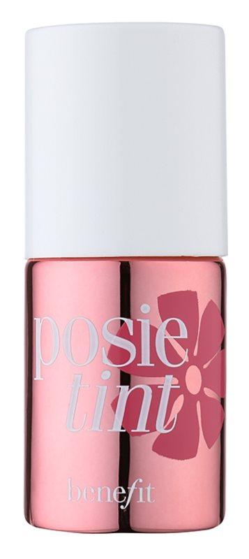 Benefit Posie Tint flüssiges Rouge und Lipgloss 2 in 1